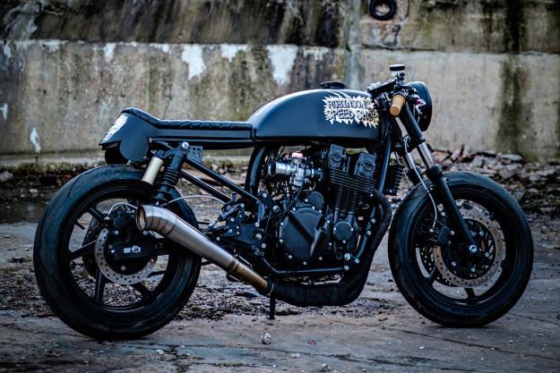 Honda CB 750 custom by Corpses from Hell