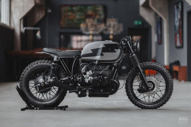 Second wind: A 1970s BMW R100 destined for Alpine trails