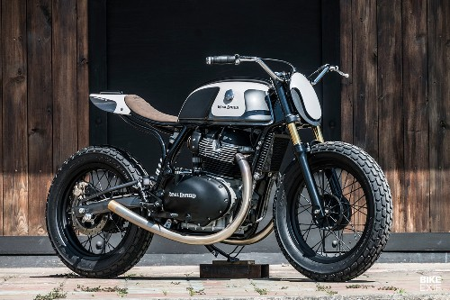 Moose Project: An Enfield street tracker from Bangkok