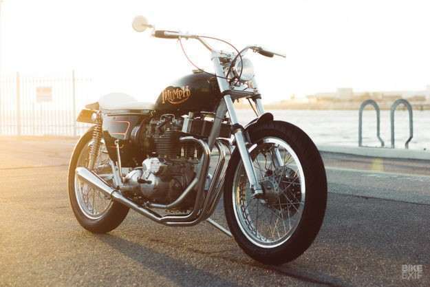 Old Gold: A classic Triumph Trident T150V restomod