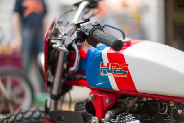 Kingston's Honda CX500 Street Tracker is Pure 80s Magic