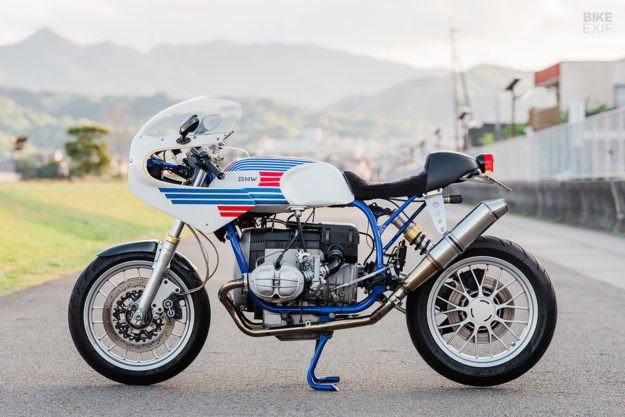 The limits of endurance: A BMW R80 with Ducati flair