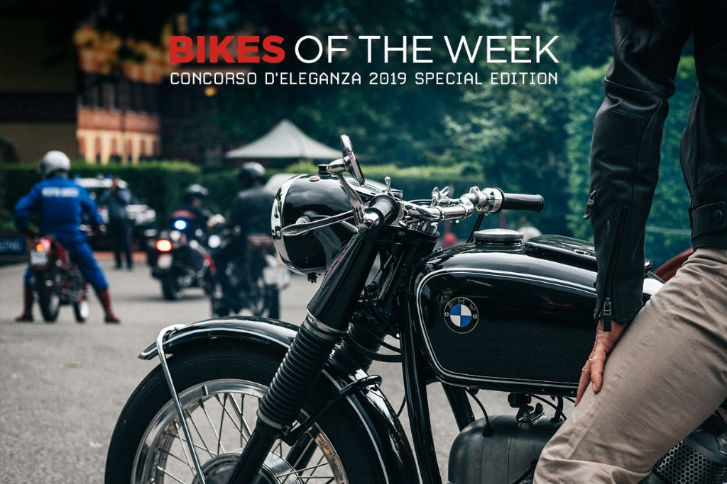 Eye Candy: The Motorcycles of the Concorso d'Eleganza
