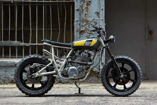Sunshine State Of Mind: An SR500 for the Streets of Miami