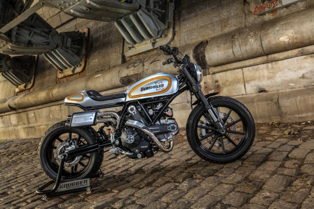 Magione: Krugger Remixes The Ducati Scrambler