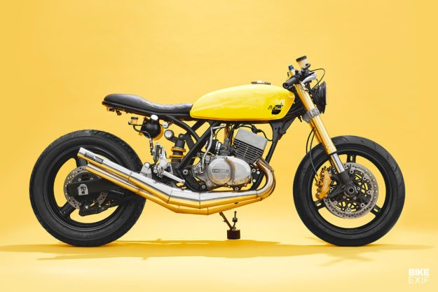 Yellow but not mellow: A Kawasaki triple from Motobrix