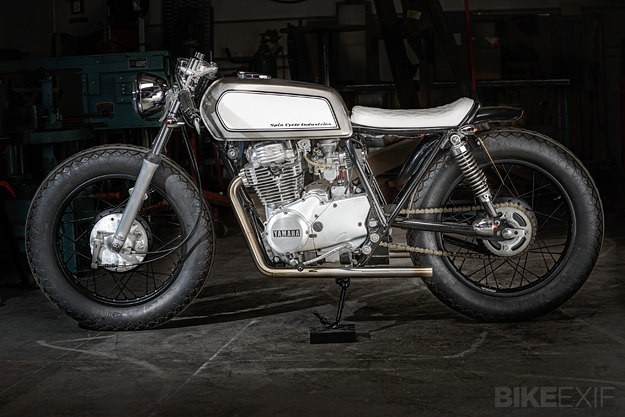 Yamaha XS400 by Spin Cycle
