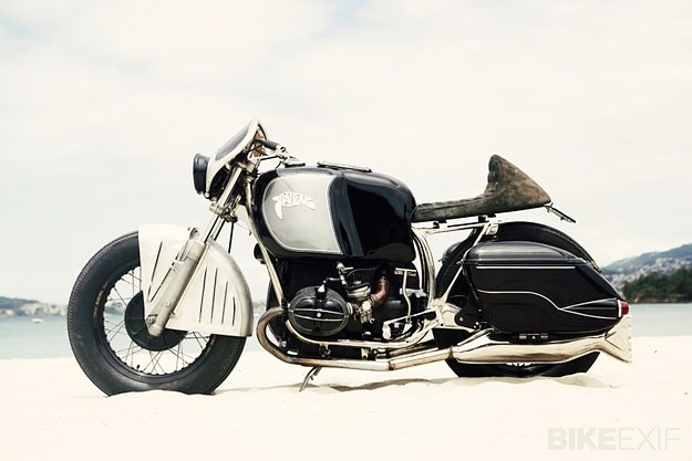 El Solitario's art deco BMW R75/5