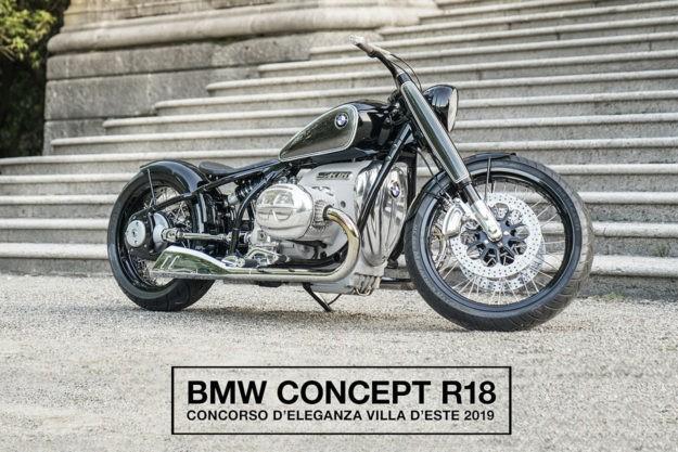 A look at the star of Villa d'Este: BMW's Concept R18
