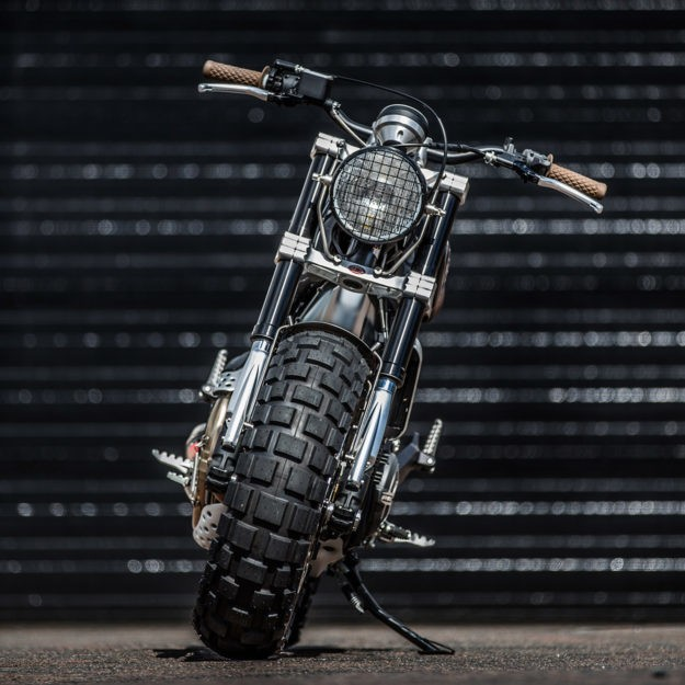 Double Scoop: Down & Out's Fat-Tired Ducati Scrambler