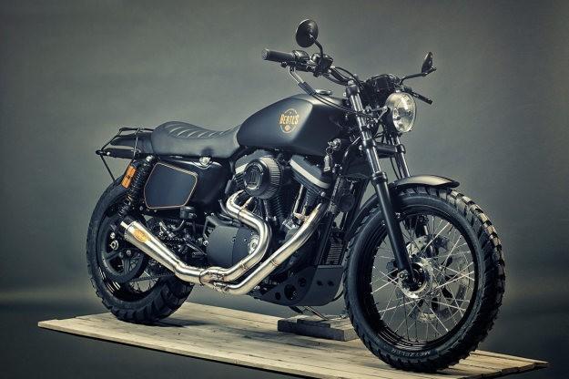 Stealthy: Renard's custom Harley 1200