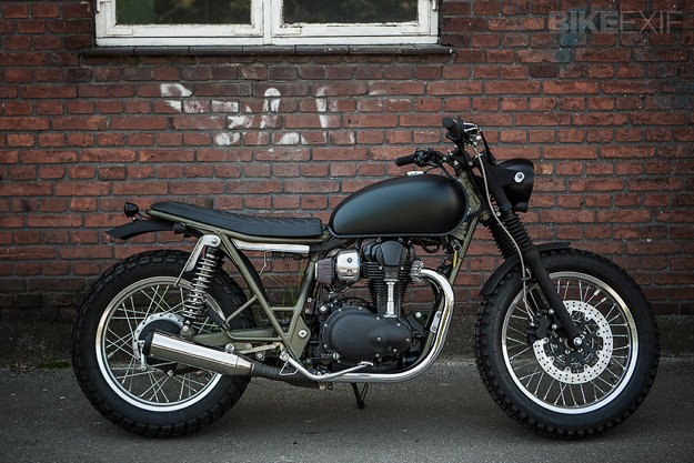 Kawasaki W800 x Wrenchmonkees
