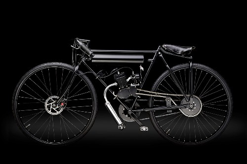 I Believe I Can Fly: Dicer Bikes' motorized bicycle