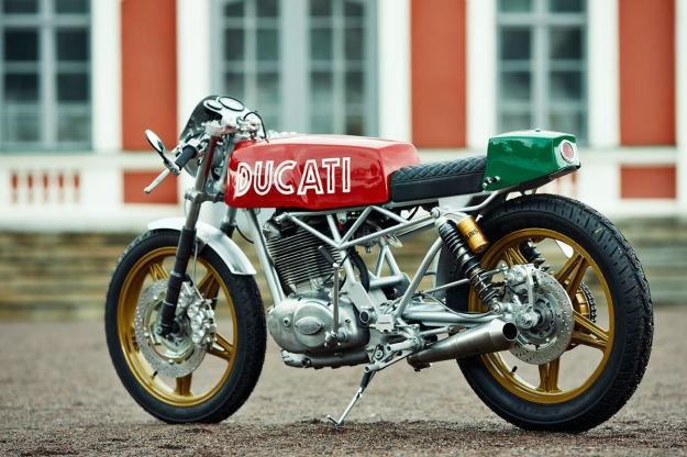 Renard Speed Shop's Ducati cafe racer