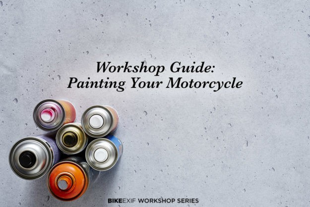 Workshop Guide: Painting A Motorcycle, Part I