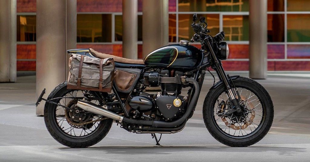 Sleeper: A stealthily upgraded Triumph Street Twin