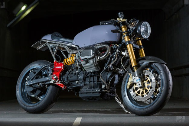 One of One: A very limited edition Guzzi V11 from Japan