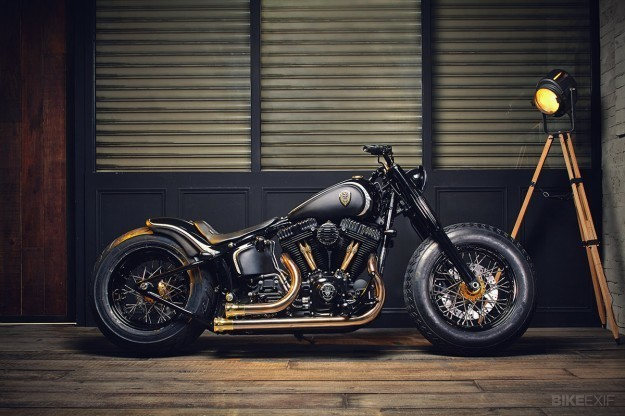 Harley Softail Slim by Rough Crafts
