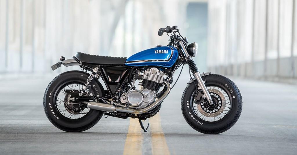 Fat SR: A chunky Yamaha SR400 from Greg Hageman