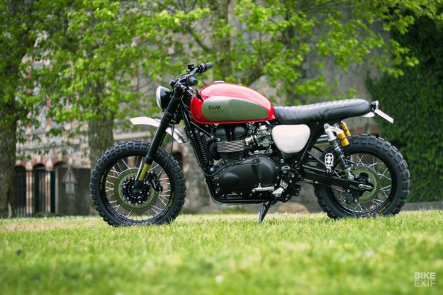 Quality Time: Customizing a scrambler for father and son