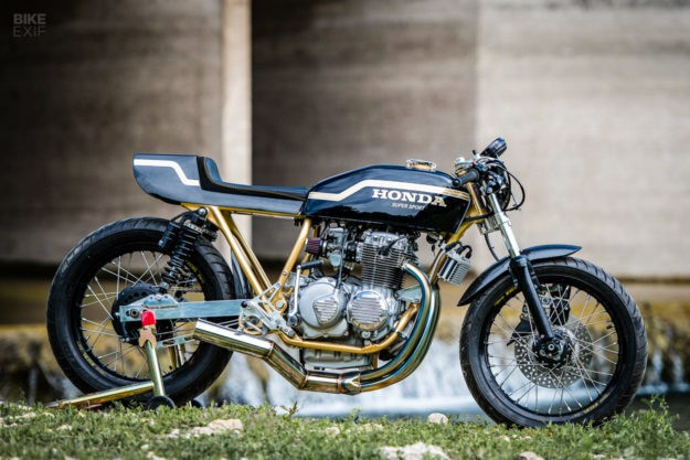 Z1 Beater! A Honda CB400F Tuned for the Track