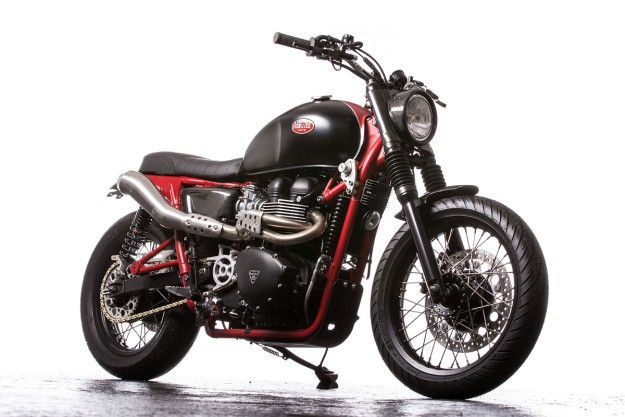 Red Alert: Down & Out's Triumph Bonneville SE