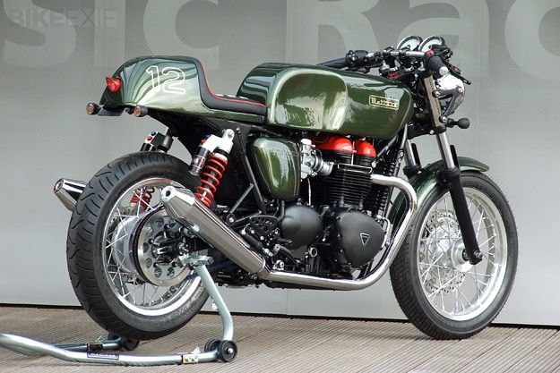Kit out your Bonneville: The Metisse cafe racer
