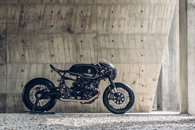 Bavarian Fistfighter: Rough Crafts' Hard-Hitting BMW