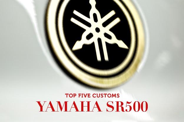 Top 5 Yamaha SR500s