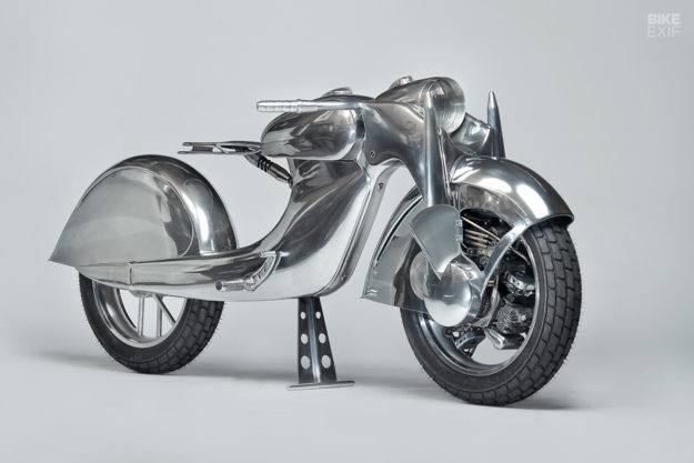 Yes, that's a front-wheel-drive motorcycle.