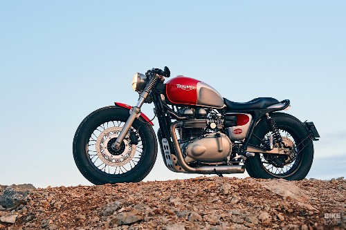 50 not out: A Thruxton to celebrate Tamarit's 50th build