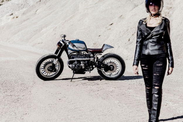 Riviera Style: A BMW R100 RS from the Côte d'Azur