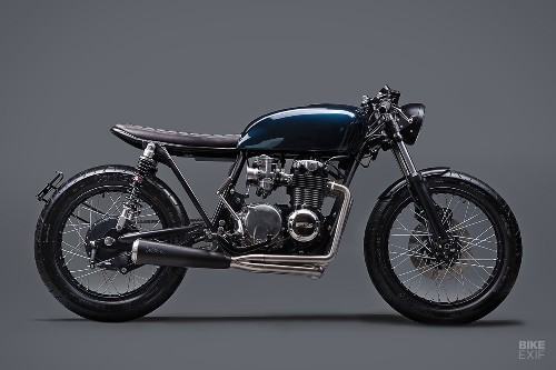 Better than new: A TÜV approved CB550 cafe racer | Bike EXIF