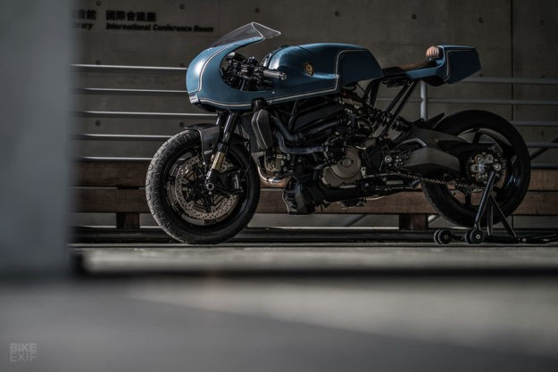 Rough Crafts builds the Monster café that Ducati won't