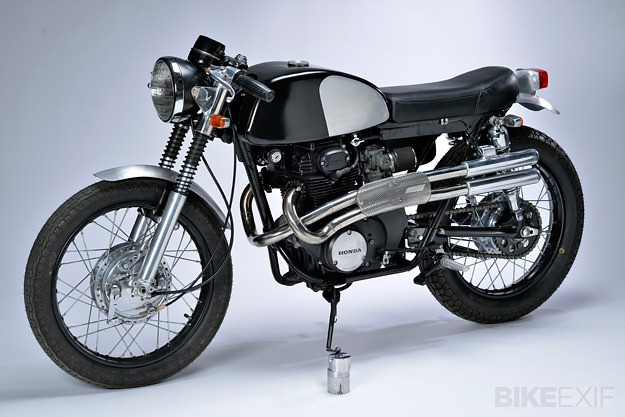 1969 Honda CB350 by Roc City