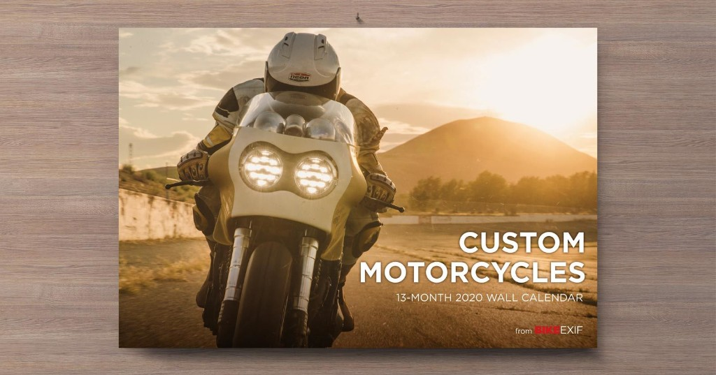On Sale Now: Our 2020 Motorcycle Calendar