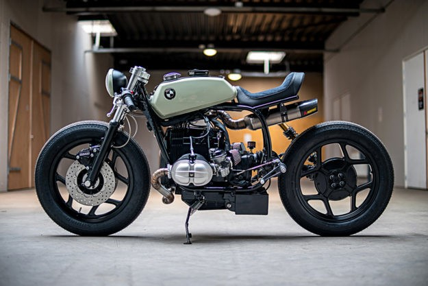 The Mutant: An Angry BMW R80 by Ironwood Motorcycles