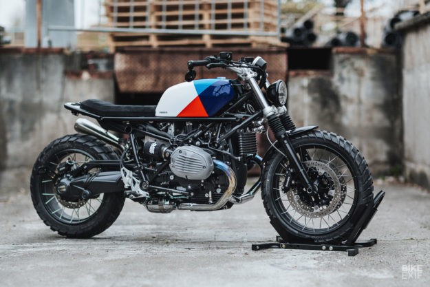 Plug and Play: A scrambler kit for the BMW R nine T