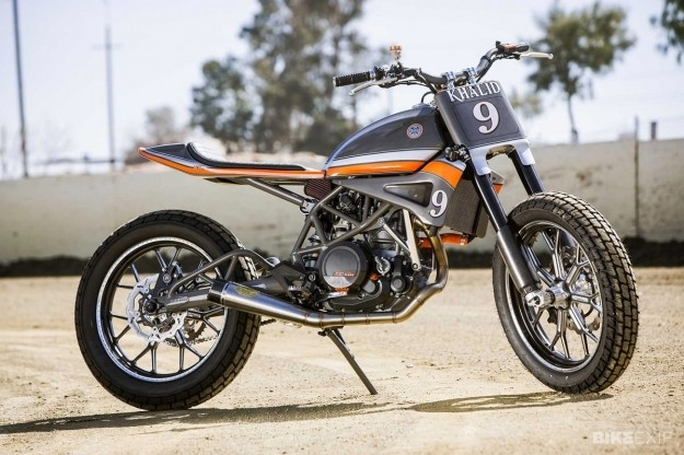 KTM Tracker by Roland Sands