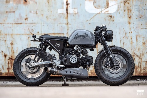 Gorilla Racer: A Honda Monkey 125 with attitude | Bike EXIF