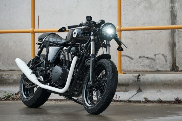 Textbook Refresh: Untitled upgrades the Thruxton 900