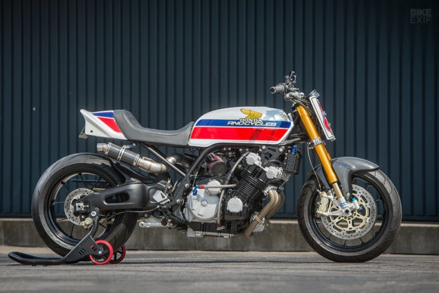 Boosted: Rno's wild turbocharged Honda CBX 1000