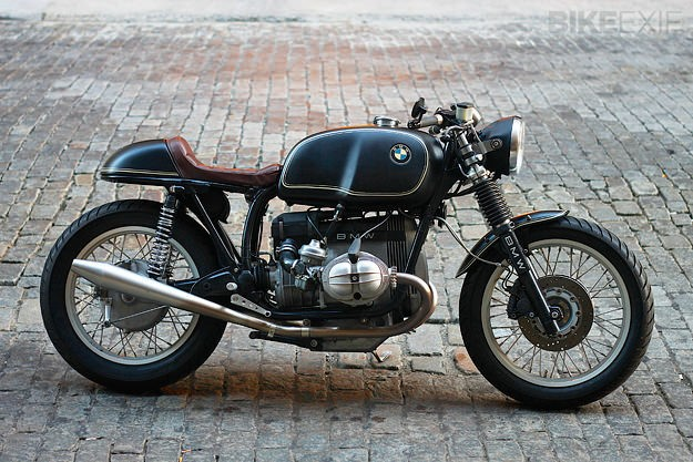 Bill Costello's immaculate BMW R100RT custom
