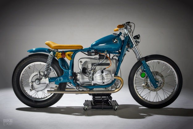 Out Of The Blue: A BMW R60/7 bucking the custom trend