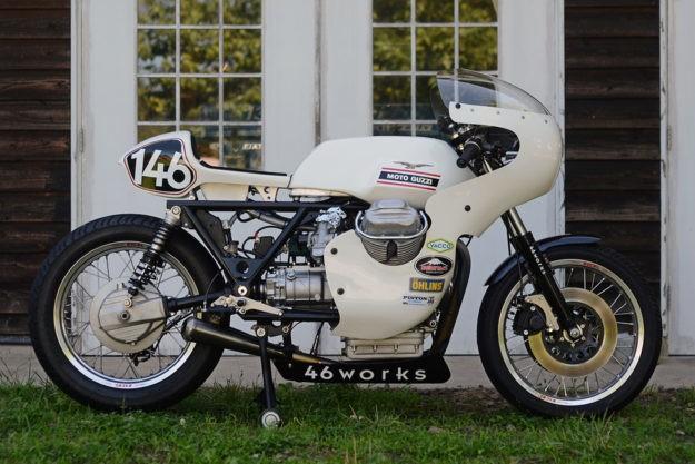 A Magnificent V7: 46Works' Moto Guzzi custom