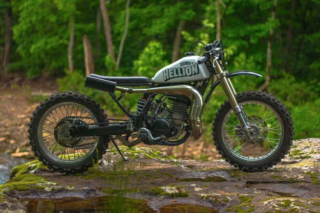 Hellion: An Off-The-Wall Yamaha WR500