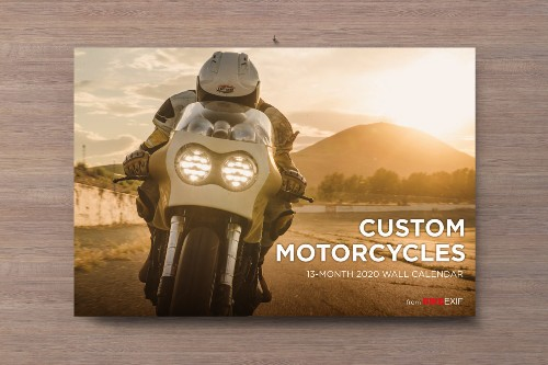 On Sale Now: The 2020 Motorcycle Calendar