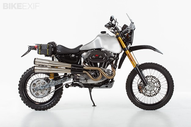 Harley dual sport motorcycle: The Carducci SC3 Adventure