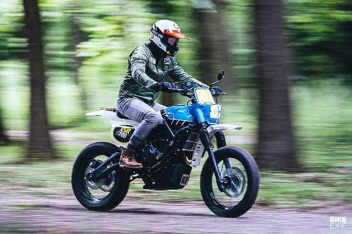 Yamaha Scrambler: An XSR700 that evokes the IT enduros