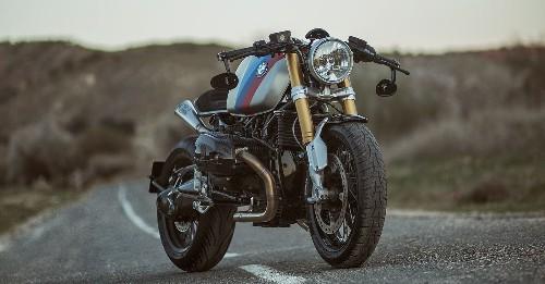 Bavara: A custom BMW R9T with an R90S tank